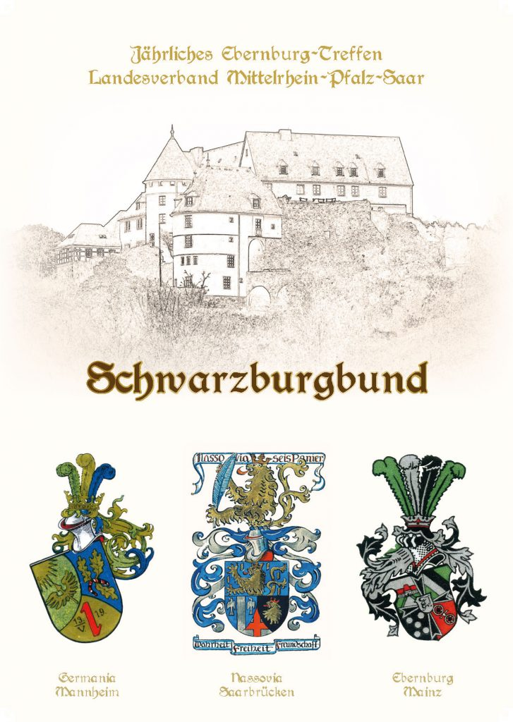 Das Nassovenwappen auf der Karte des Landesverbandes Mittelrhein-Pfalz-Saar